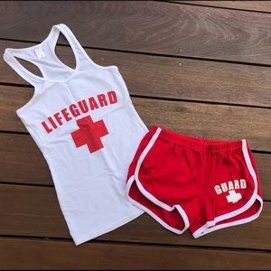 Lifeguard Set Outfit